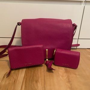Leather Vera Bradley Set